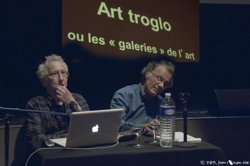 Conférence Ar'site à Doué-la-Fontaine, 17 juin 2016 © Patrick Edgard-Rosa