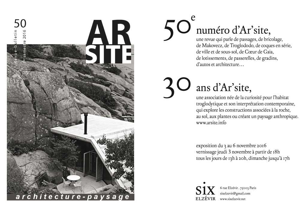 carton d'invitation à l'exposition
