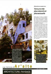 lettre n°1 • avril 1991