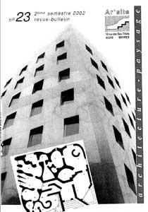 n° 23 • janvier 2003