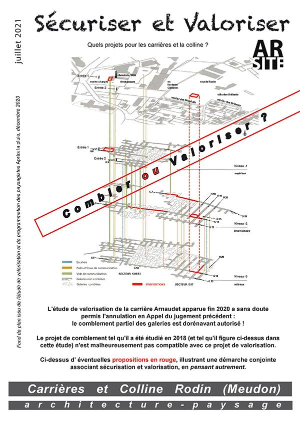 Sécuriser & Valoriser, Ar'site, août 2021